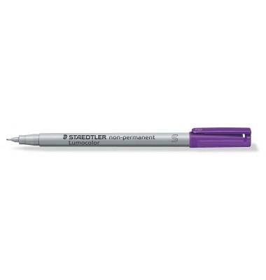 Folienstift 311 S violett 0,4 mm  non-permanent