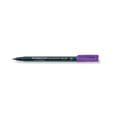 Folienstift 313 S violett 0,4 mm permanent