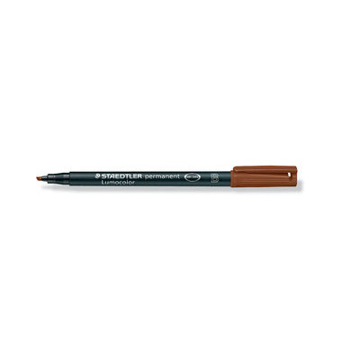 Folienstift 314 B braun 1,0-2,5 mm permanent
