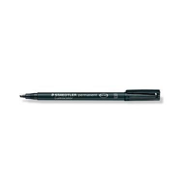 Folienstift 314 B schwarz 1,0-2,5 mm permanent