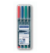 Folienstift 314 B farbig sortiert 1,0-2,5 mm 4er Etui permanent