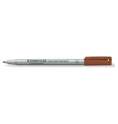 Folienstift 315 M braun 1,0 mm non-permanent