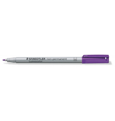 Folienstift M wasserloeslich violett 1,0mm nachf.