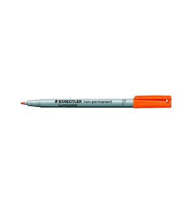 Folienstift 316 F orange 0,6 mm non-permanent