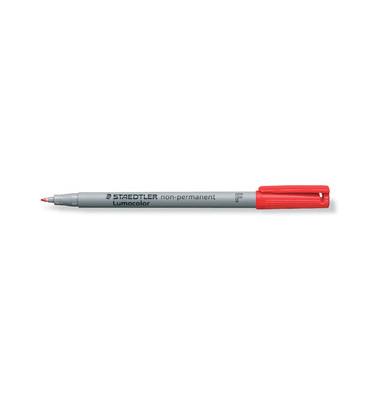 Folienstift 316 F rot 0,6 mm non-permanent