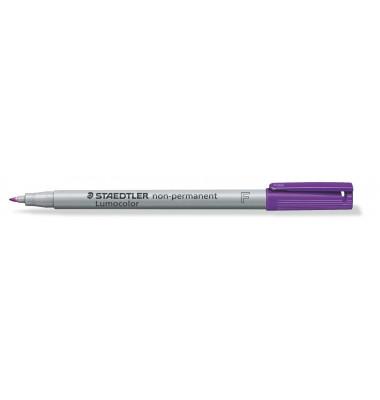 Folienstift 316 F violett 0,6 mm non-permanent