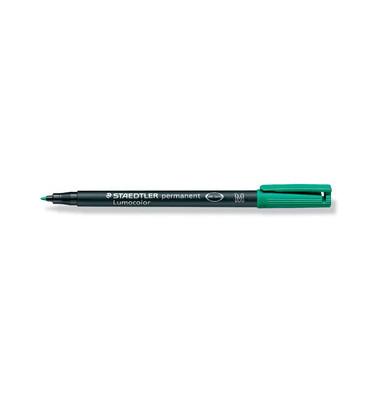Folienstift 317 M grün 1,0 mm permanent