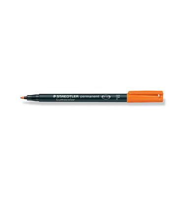 Folienstift 318 F orange 0,6 mm permanent