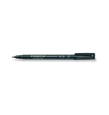 Folienstift 318 F schwarz 0,6 mm permanent