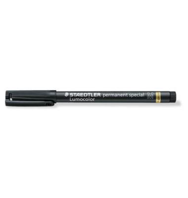Faserschreiber permanent M schwarz 1mm spezial Rundspitze
