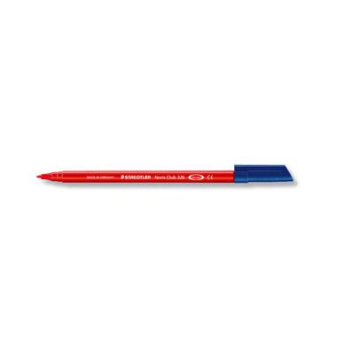 Faserschreiber auswaschbar rot 1mm