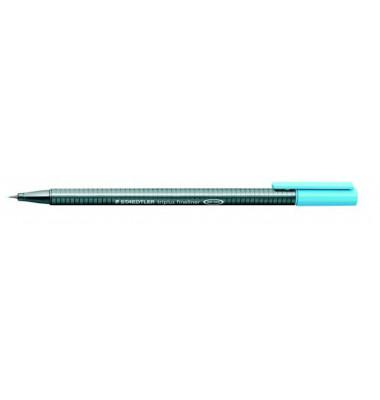 Fineliner Triplus 0,3mm aquablau