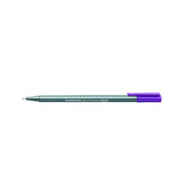 Fineliner Triplus 0,3mm violett