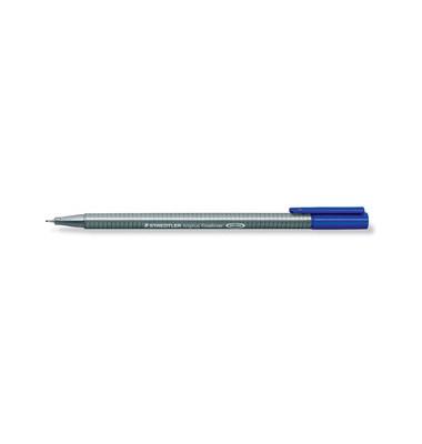 Fineliner Triplus blau 0,3 mm