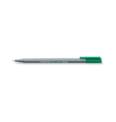 Fineliner Triplus grün 0,3 mm