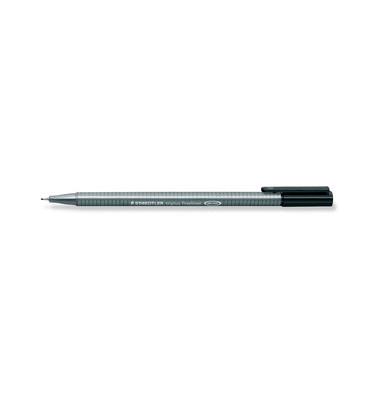 Fineliner Triplus schwarz 0,3 mm