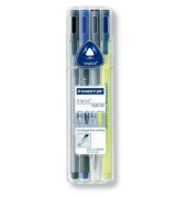 Fineliner Triplus Multiset 4er-Etui 0,5 mm