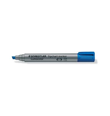 Flipchartmarker 356B blau 2-5mm Keilspitze