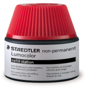 Tintentank f.OHPStift wasserl. rot Lumocol. non-permanent