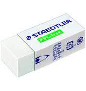Radiergummi 43 x 19 x 13 mm PVC-frei weiß