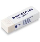 Radiergummi rasoplast 65 x 23 x 12mm weiß