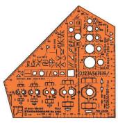 Schulwinkel stano Metall m 155x155x1,3