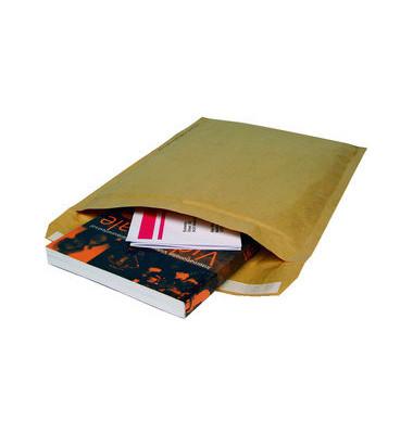 Papierpolstertaschen Typ E, 1515, innen 215x265mm, haftklebend, braun