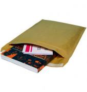 Papierpolstertaschen Typ F, 1516, innen 215x340mm, haftklebend, braun