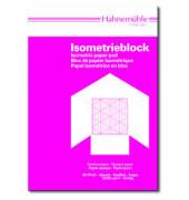 Isometrieblock A4 weiß/blau 80/85g 50 Blatt