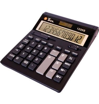 Tischrechner Solar Twen 1220 S  12 stellig