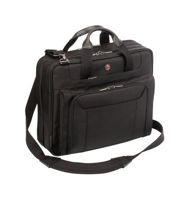 Notebooktasche Ultralite Corporate Traveller schwarz bis 15,6 Zoll