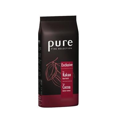 pure FINE SELECTION Trinkschokolade Exclusive Pulver 1kg