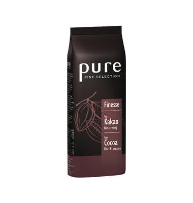 pure FINE SELECTION Trinkschokolade Finesse Pulver 1kg