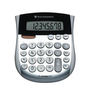 Tischrechner TI-1795SV,8-stellig silber