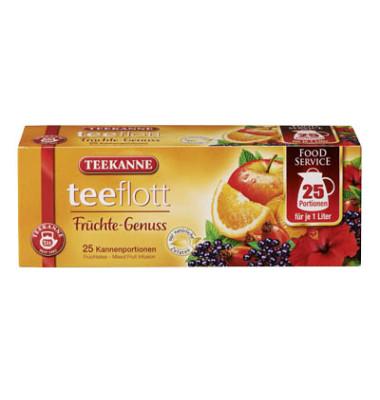 Teeflott Früchtetee 25x7g