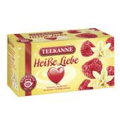 Früchtetee Heiße Liebe Himbeer ohne Vanille kuvertiert 20x 3g Beutel