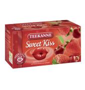 Früchtetee Sweet Kiss Erdbeer Kirsch kuvertiert 20x 3g Beutel
