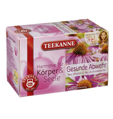 Wellness Tee Gesunde Abwehr Kräutertee 20x 2g Beutel