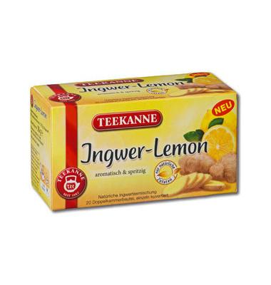 Kräutertee Ingwer-Lemon 20x 1,75g