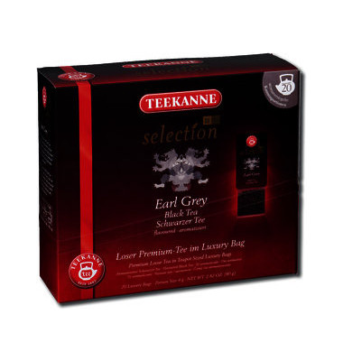 Schwarztee selection 1882 Earl Grey, Btl. aromavers. (20 stk)
