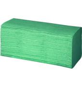 Papierhandtücher 061057 racon easy ZZ-Zickzack 25 x 23 cm 1-lagig grün Krepp 4600 Tücher