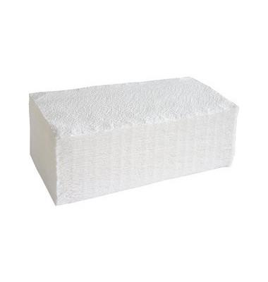 Papierhandtücher 081109 racon plus ZZ-Zickzack 21 x 23 cm 2-lagig Tissue hochweiß 3200 Tücher