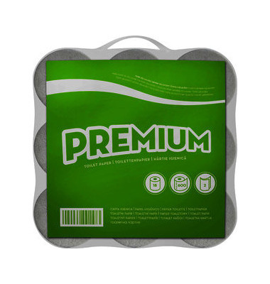 Toilettenpapier 091573 racon premium 2-lagig 18 Rollen