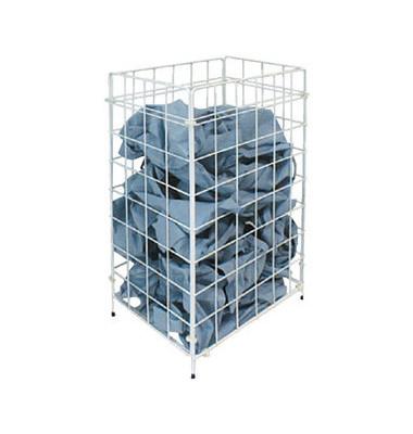 Drahtgitterkorb für Papierhandtücher 120051 racon m-waste 45 Liter weiß