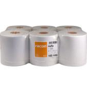 Rollenhandtücher 160446 racon comfort 1-320 R Innenabrollung 1-lagig Tissue weiß 6 Rollen