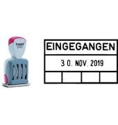 Datumstempel Classic EINGEGANGEN + 4 Felder