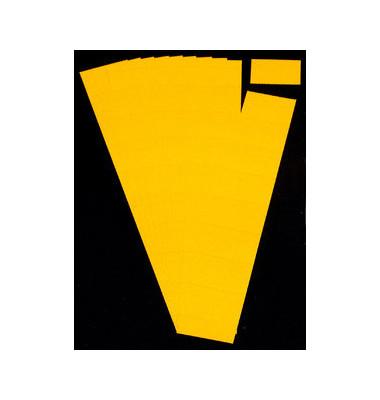 Einsteckkarten für Planrecord gelb 50x32mm 90 Stück