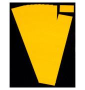 Einsteckkarten für Planrecord gelb 60x32mm 90 Stück