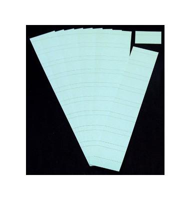 Einsteckkarten für Planrecord hellblau 60x32mm 90 Stück