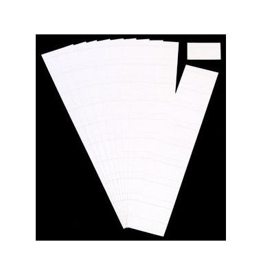 Einsteckkarten für Planrecord weiß 60x32mm 90 Stück